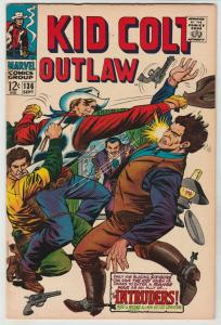 Kid Colt Outlaw #136 (Sep-67) VF/NM High-Grade Kid Colt
