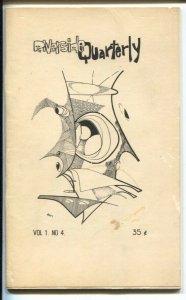 Riverside Quarterly Vol.1 #4 1965-early issue-Robert Heinlein-Blackbeard-VG