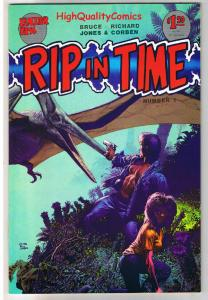 RIP IN TIME #1, VF+, Richard Corben, Fantagor, Dinosaurs, 1986, more in store