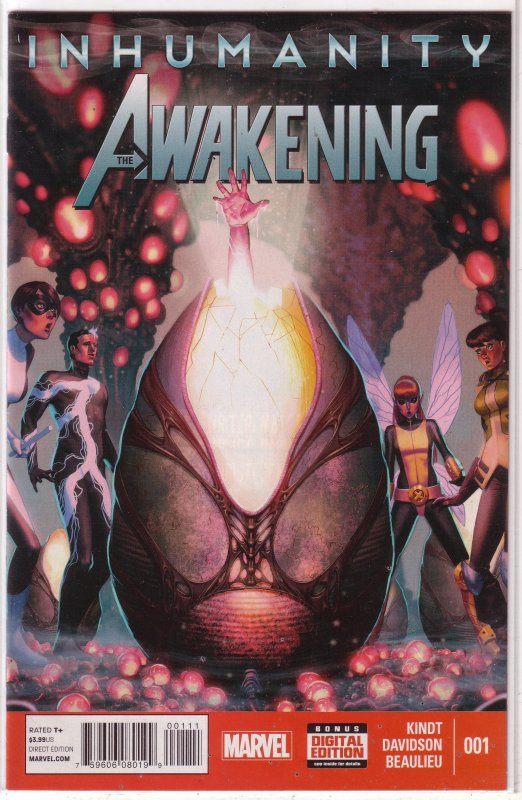 Inhumanity  : The Awakening   #1 FN