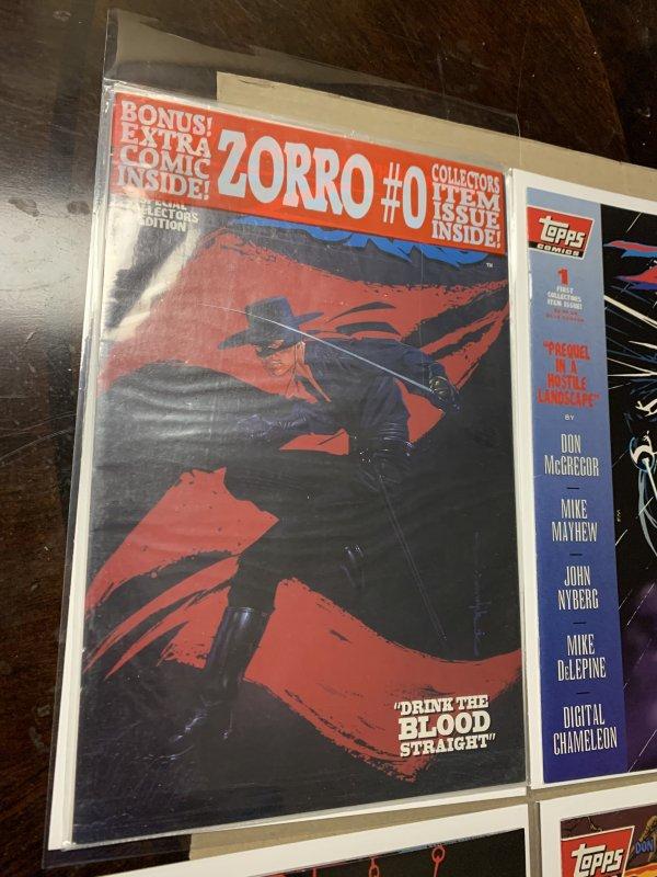 1994 Zorro Complete Series # 0-11 Topps Comics