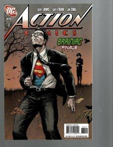 10 DC Superman Action Comics #870 871 872 873 874 875 876 877 878 879 J439