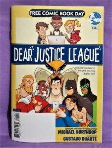 Michael Northrop FCBD 2019 DEAR JUSTICE LEAGUE Ashcan (DC, 2019)!