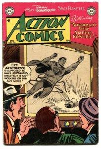 ACTION COMICS #187 1953-SUPERMAN-CONGO BILL-TOMMY TOMORROW-vg