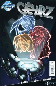 Gearz #3 VF/NM; Bluewater | save on shipping - details inside