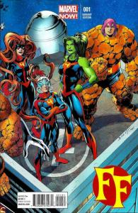 FF (2nd Series) #1D VF; Marvel | save on shipping - details inside