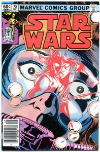 STAR WARS #75, VF, Luke Skywalker, Darth Vader, 1977, more SW in store