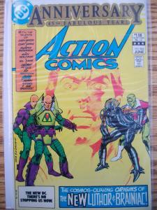 Action Comics 544 NM