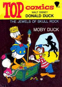 Top Comics: Donald Duck #1, VG (Stock photo)