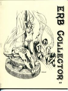 ERB Collector #49 2001-Edgar Rice Burroughs fanzine-Tarzan-Harry Roland-VF