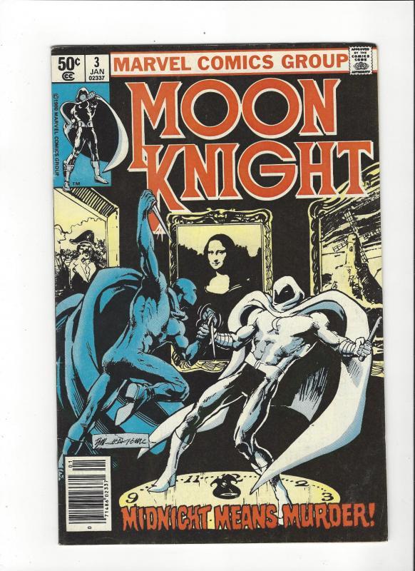 Moon Knight #3 (1979)  Sienkiewicz Art VF