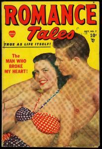 Romance Tales #7 1949- Marvel Comics- Photo cover VG-