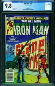 IRON MAN #173 CGC 9.8 Newsstand edition 2038921018
