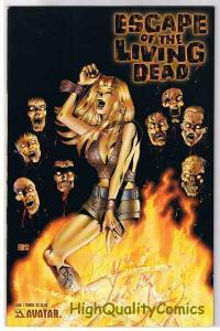ESCAPE of the LIVING DEAD #1, NM, Terror, Zombies, 2005, more Horror in store