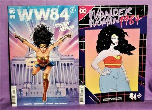 Movie Tie-In WONDER WOMAN 84 #1 WW84 Reg & Rooster Teeth Variant (DC, 2020)!
