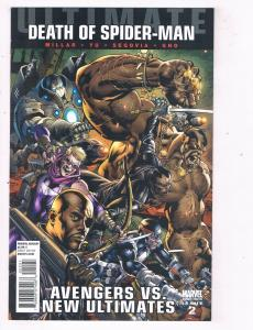 Ultimate Avengers vs. New Ultimates (2011 Marvel) #2 Comic Book Spider-Man HH3