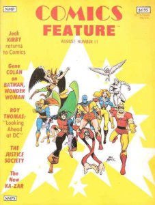 Comics Feature #11 VG; NBM   low grade comic - save on shipping - details inside
