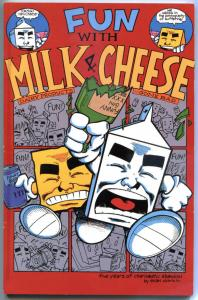 FUN with MILK and CHEESE TPB #1, NM, 1994, 1st, Dorkin, more indies in store