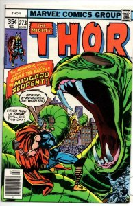 THOR #273 VF/NM God of Thunder Buscema Serpent 1966 1978, more Thor in store