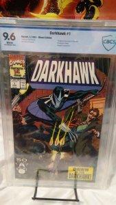 Darkhawk #1 - CBCS 9.6 - 1st Appearance and Origin of Darkhawk!