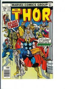 Thor #274 - Bronze Age - Vol. 1, Aug, 1978 (VF)