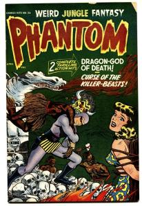 Harvey Comics Hits PHANTOM #56-1952-Jungle Skull Bondage cover