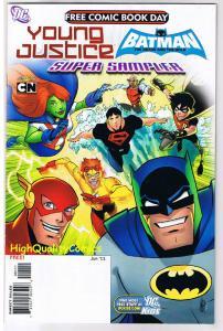 YOUNG JUSTICE / BATMAN, FCBD, NM, Promo, Bruce Wayne, 2011, more in store