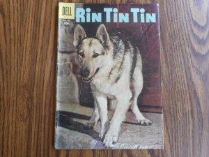 RIN TIN TIN  1957  NICE 63 YEAR OLD COPY!!