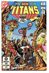 NEW TEEN TITANS #28-First TERRA cover-DC NM-