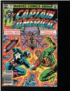 Captain America #274 (Marvel, 1982)