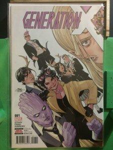 Generation X #1 (2017 series)
