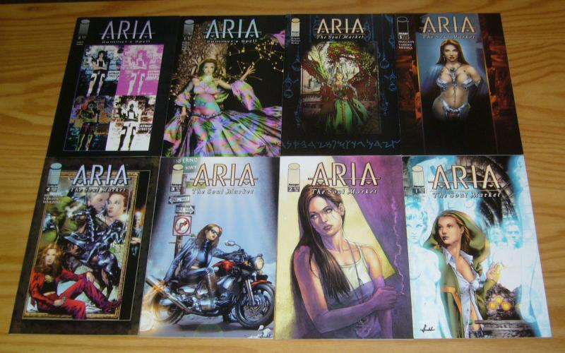 Aria: the Soul Market #1-6 VF/NM complete series + summer's spell 1-2 anacleto