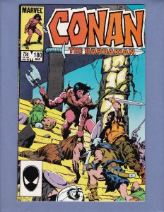 Conan The Barbarian #180 FN Marvel 1986