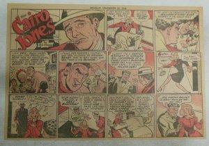 Miss Cairo Jones Sunday by Bob Oksner from 12/29/1946 Size: 11 x 15 inches GGA