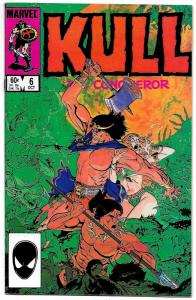 Kull The Conqueror #6 (Marvel, 1984) VF