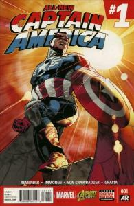 All-New Captain America #1 VF/NM; Marvel | save on shipping - details inside