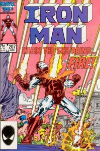 Iron Man (1st Series) #207 VF; Marvel | save on shipping - details inside