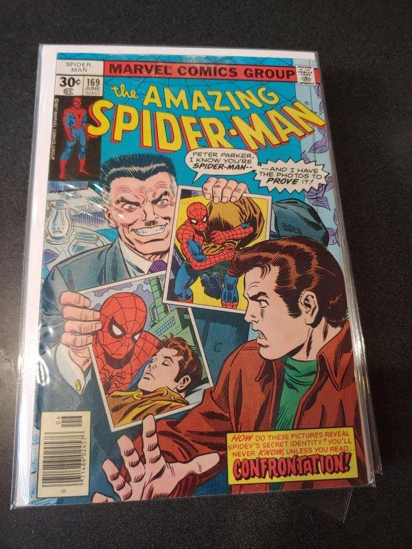 Amazing Spider-Man #169 - J Jonah Jameson Cover
