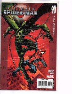 Marvel Comics Ultimate Spider-man #90 Mark Bagley Art Ultimate X-men