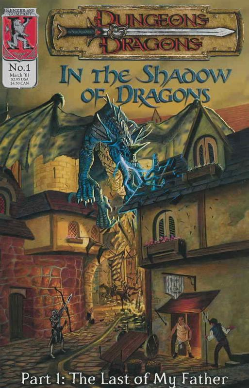Dungeons and Dragons: In the Shadow of Dragons #1 FN; Kenzer and Company | combi