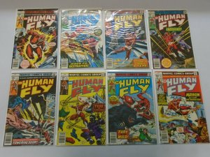 The Human Fly set #1-19 avg 5.0 VG FN (1977-79 Marvel series)