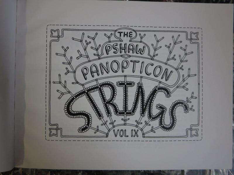 Strings by P'Shaw PShaw Panapticon Indie Comic Book Deranged Hip Comics for All