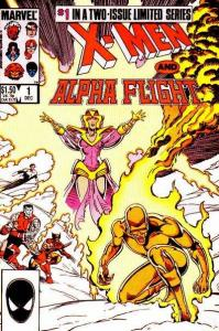 X-Men/Alpha Flight (1985 series) #1, NM- (Stock photo)