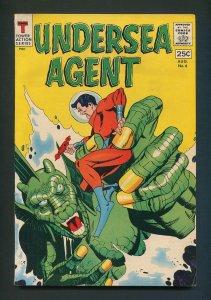 Undersea Agent #4 / 7.5 VFN-  August 1966