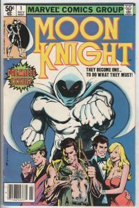 Moon Knight #1 (Nov-80) VF+ High-Grade Moon Knight