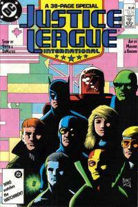 Justice League (1987 series) #7, VF+ (Stock photo)