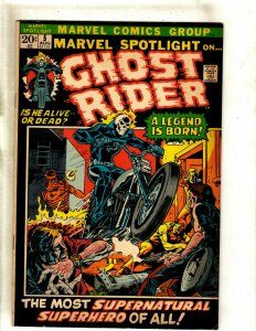Marvel Spotlight # 5 VF Comic Book Feat. Ghost Rider 1st Appearance KEY RS1