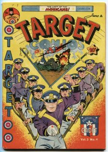 Target Vol 3 #4 Space Hawk by Basil Wolverton 1942 Golden Age