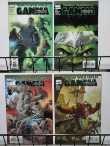 WORLD WAR HULK GAMMA CORPS (2007) 1-4  complete series