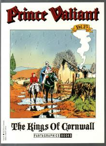 Prince Valiant #23 1990-Fantagraphics-color reprint-Hal Foster-Kings Of Cornwall